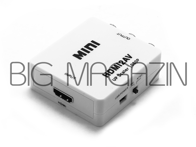 HD VIDEO CANVERTER (HDMI/AV) 1080P