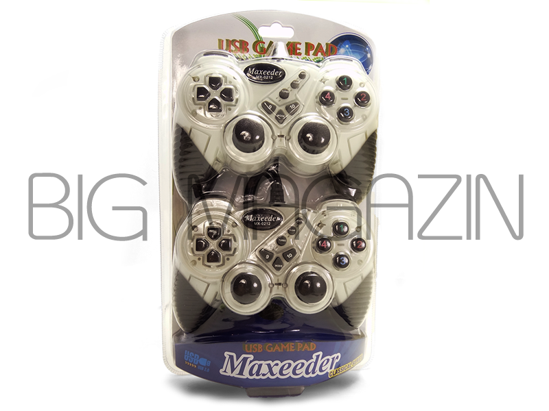 Maxeeder MX-0212 Vibration Gamepad Double