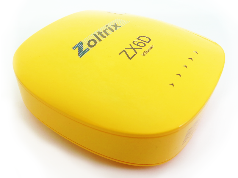 power bank zoltrix 6000 mAh ZX6D